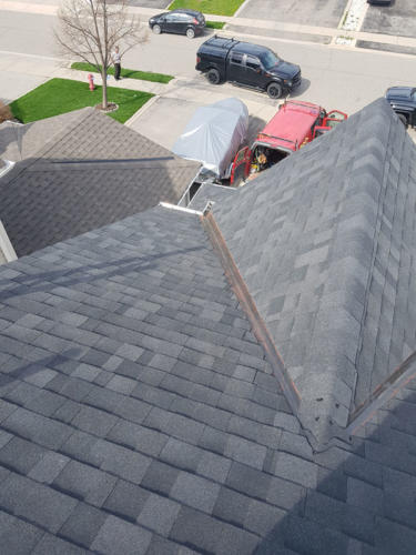 Roof Reshingle - completed