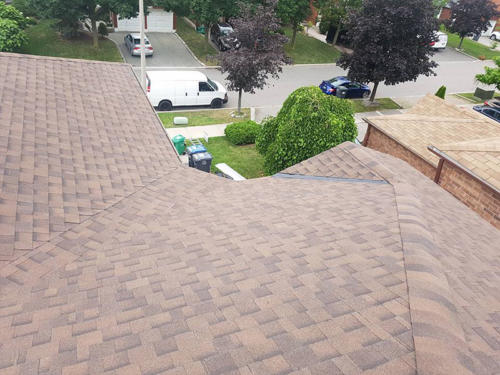 New Roof - A View From Above