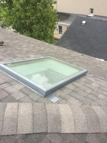 New Skylight and Flashing