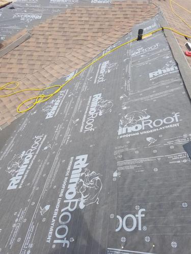 Roofing Underlayment Installation