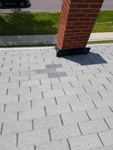 Shingles Replaced - After