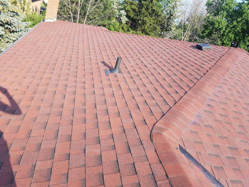 Singled Roof Completed