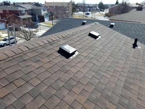 Roof Installation Complete