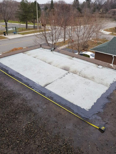 Flat Roof Repair - After