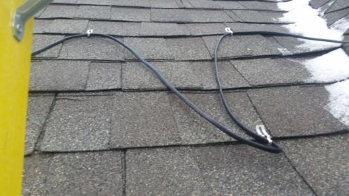 Ice Melter - Heating Cables - Installation
