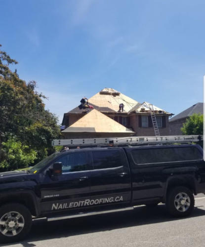 Nailed It Roofing - truck