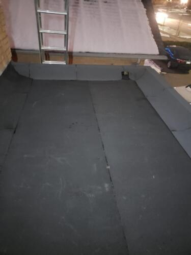 Flat Roof Repair with 2Ply Torch Down