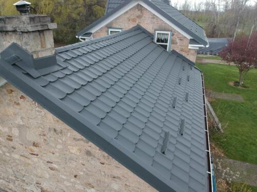 Metal Roof using Whistler Profile