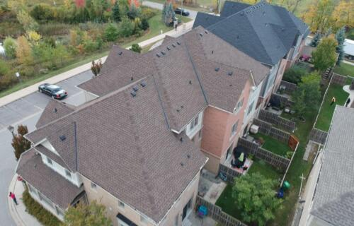 New Roofs on Townhouses
